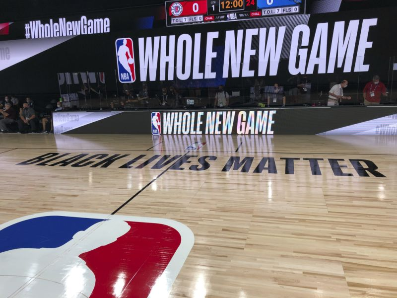 NBA and Yahoo Sports partners to create the Disney bubble to fans in VR