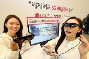LG Uplus to launch world's first 5G augmented reality glasses