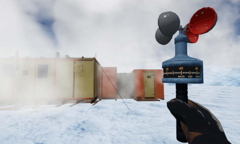 Virtual Reality Trip Takes Users to Antarctica Research Station