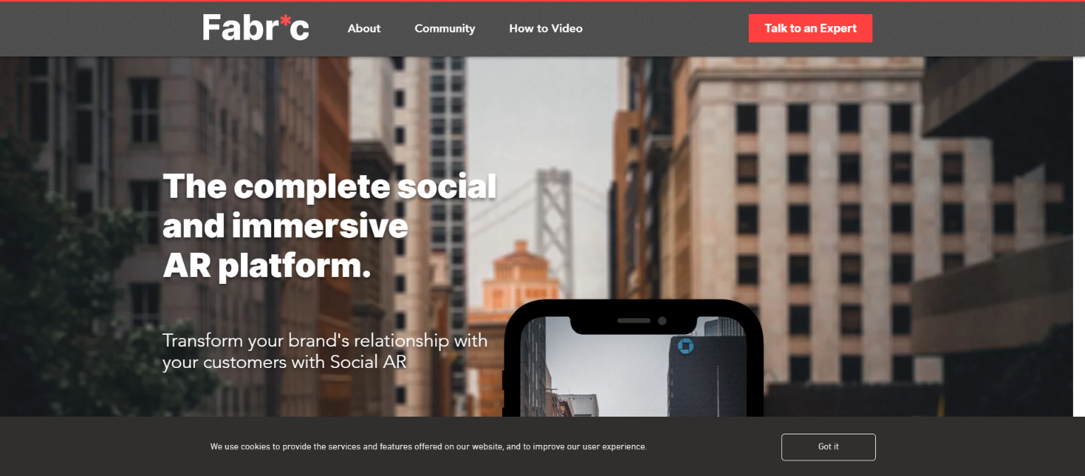 Social Augmented Reality app provider Fabric receives USD 1 million in funding