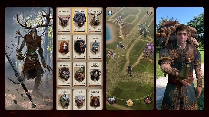 The Witcher unveils AR free-to-play mobile Monster Slayer