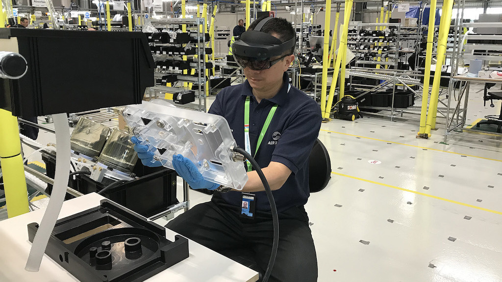 AMRC agrees on a deal for augmented reality technology