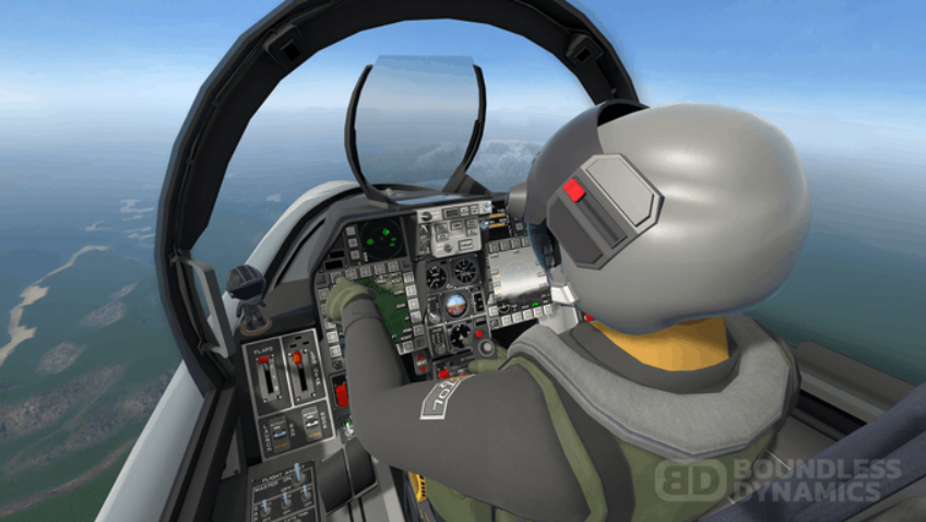 SteamVR is launching its combat flight virtual reality game VTOL VR