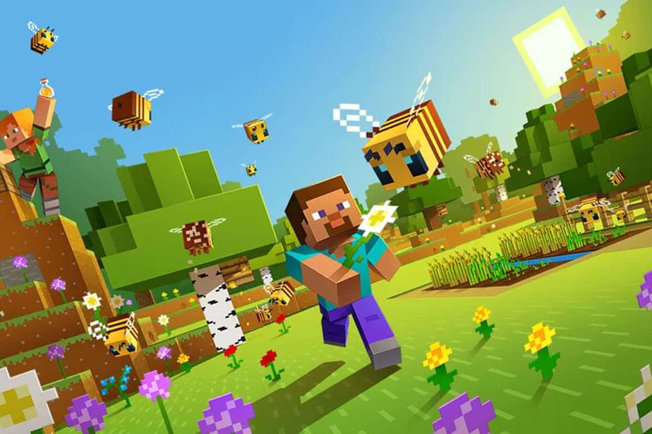 Minecraft is available as a free update for PlayStation VR