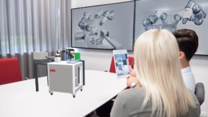 ABB develops AR to simplify robot installations