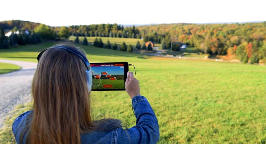 """Meet me at Woodstock"" Bethel Woods' new augmented reality adventure"
