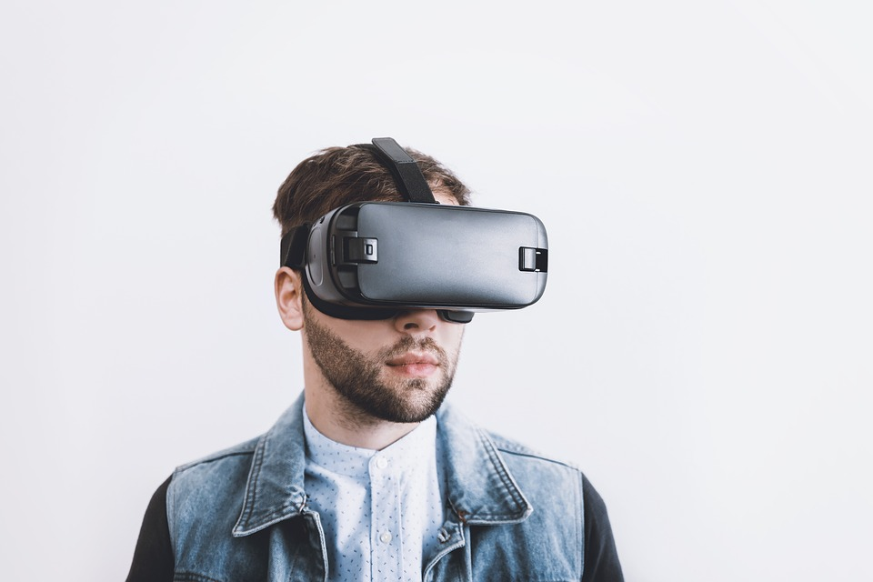 Virtual Reality headset could be the future of video conferencing
