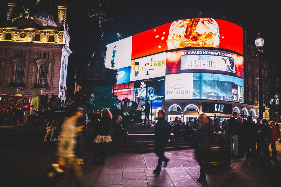 London's Piccadilly Lights to explore immersive experiences of mobile Augmented Reality