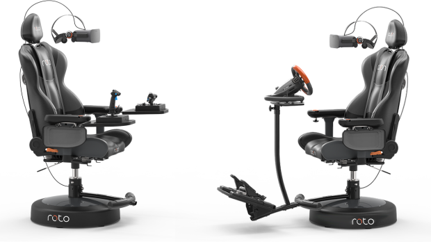 Roto VR's Motorized Chair to Add Support for Vive Pro, Valve Index