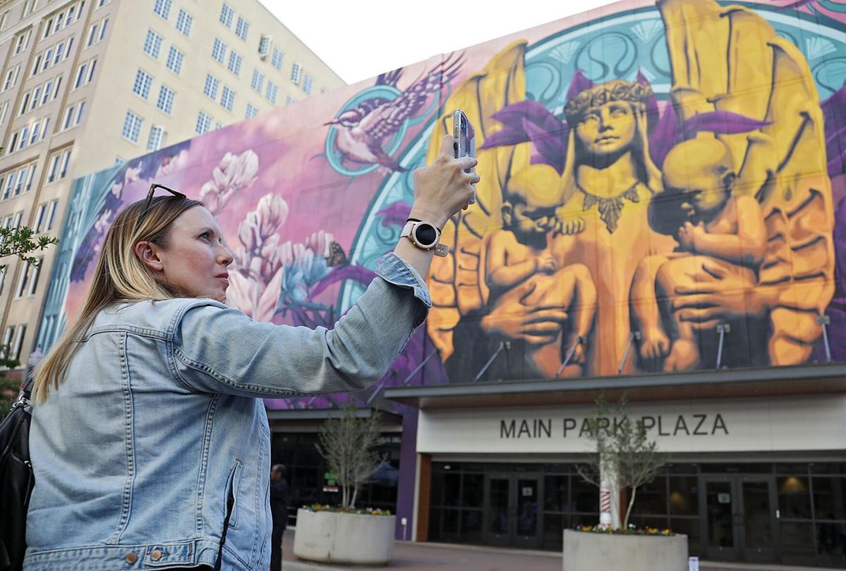 The World's Largest Augmented Reality Mural Unveiled in the City of Tulsa